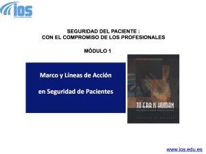 SEGURIDAD DE PACIENTES IOSeduEs