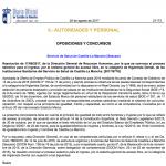 Convocatoria oposiciones Sescam Técnico Superior Higienista Dental