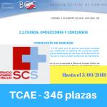 Convocatoria oposiciones TCAE Cantabria