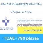 Convocatoria oposiciones TCAE Asturias