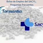 Bolsa de Empleo del SACYL. Preguntas frecuentes.