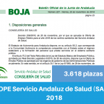 OPE del Servicio Andaluz de Salud (SAS) de 2018