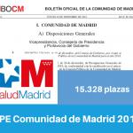 Resumen OPE Comunidad de Madrid 2018
