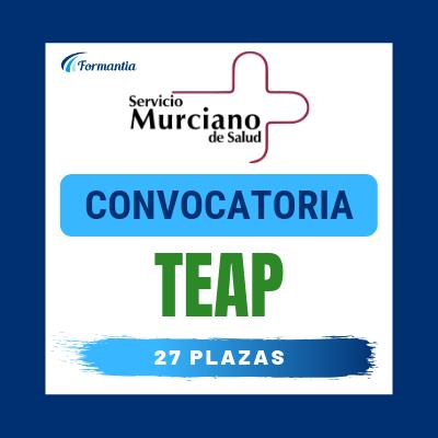Convocatoria Oposiciones TEAP Murcia