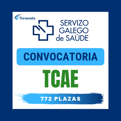Convocatoria Oposiciones TCAE SERGAS