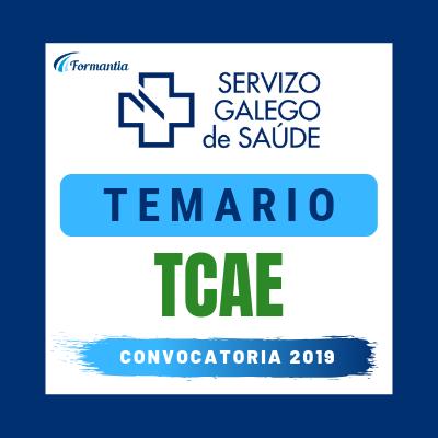 Temario Convocatoria Oposiciones TCAE SERGAS