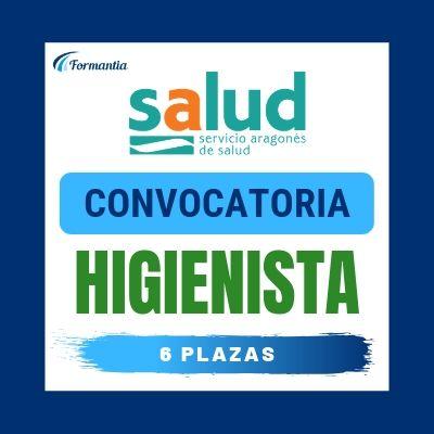Convocatoria Oposiciones Higienista Dental Aragón SAS