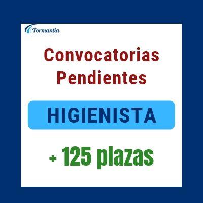 Convocatorias pendientes HIGIENISTA Blog