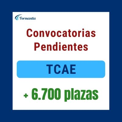 Convocatorias pendientes TCAE Blog
