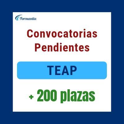 Convocatorias pendientes TEAP Blog