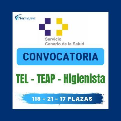 Convocatoria Técnicos Canarias