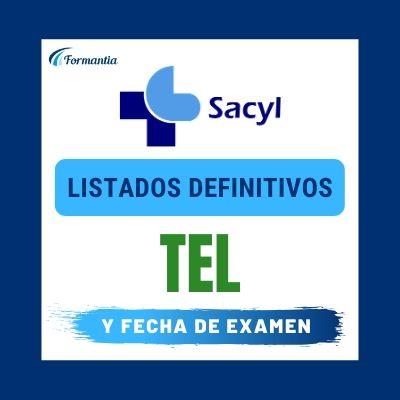 Listados definitivos TEL SACYL Examen